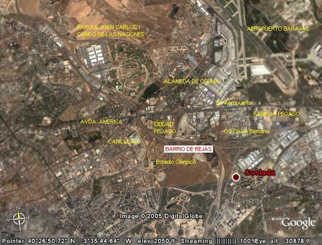 Localizacion y entorno - Ciudad pegaso madrid ...